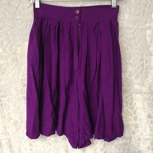 Vintage High Waist Mom culotte wide leg shorts